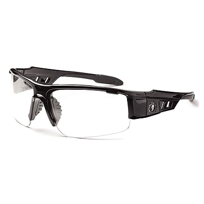 Skullerz DAGR-AF, Anti-Fog Clear Lens, Black (52003)