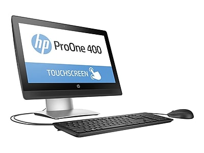 """HP® ProOne 400 G2 W5Y46UT 20"""" LED LCD Touch All-in-One PC, Black/Silver (W5Y46UT#ABA)"""