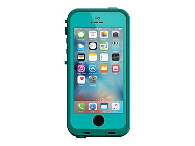 LifeProof Fre Carrying Case for iPhone 5/5S/SE, Teal/Dark Teal (77-53735)