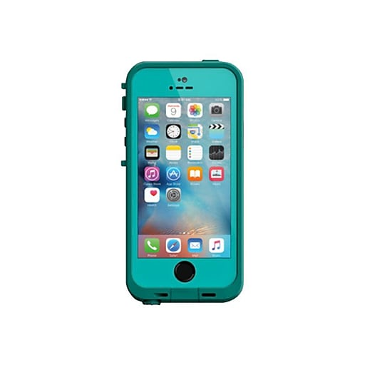 check out 23f67 cdfec LifeProof Fre Carrying Case for iPhone 5/5S/SE, Teal/Dark Teal (77-53735)