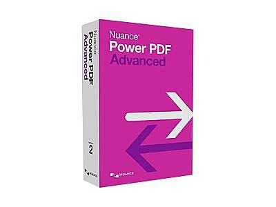 Nuance® Power PDF 2.0 Advanced Software, 1 User, DVD, Windows (AS09A-G00-2.0)
