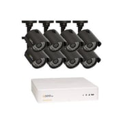 Q-See® QTH8-8Z3-1 8-Channel HD Digital Video Recorder with 8 Cameras