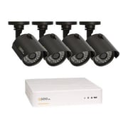 Q-See® QTH4-4Z3-1 4-Channel HD Digital Video Recorder with 4 Cameras