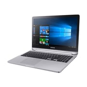 "Samsung 7 Spin NP740U5L 15.6"" 2-in-1 Notebook, LCD, Intel Core i7-6500U, 1TB, 8GB, Windows 10 Pro, Platinum Silver"