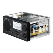 Sangean WR 2CL FM/AM Stereo Digital Tuning Portable Receiver, Clear by