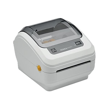 Zebra® Monochrome Direct Thermal Label Printer, 203 dpi, Gray (GK4H-202210-000)
