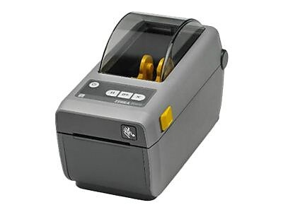 Zebra® Monochrome Direct Thermal Label/Receipt Printer, 203 dpi, Black/Gray (ZD41022-D01W01EZ)