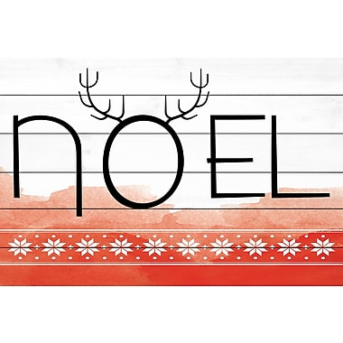 Marmont Hill 'Noel' by Diana Alcala Painting Print on White Wood; 30'' H x 45'' W x 1.5'' D