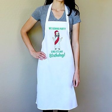Love You A Latte Shop 100pct Cotton We're Gonna Party Like It's My Birthday Apron