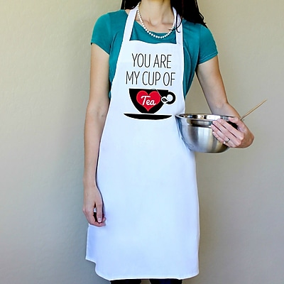 Love You A Latte Shop 100pct Cotton Your My Cup Of Tea Apron