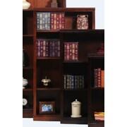 AmericanHeartland Poplar 60'' Standard Bookcase; Chocolate Mousse