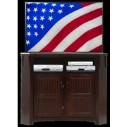AmericanHeartland 50'' TV Stand; Chocolate Mousse