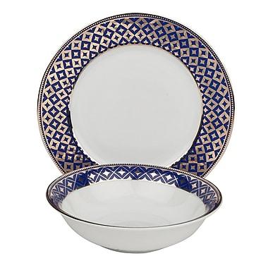 Shinepukur Ceramics USA, Inc. Empire Fine China 24 Piece Completer Set