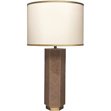 Jamie Young Company Paloma 34.5'' H Table Lamp; Taupe/Cream/Golden Beige