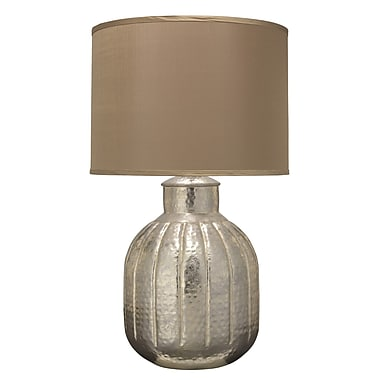 Jamie Young Company Zeppelin 31.5'' H Table Lamp; Silver/Taupe