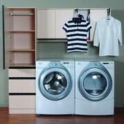 Valore 6.25'' H x 6.25'' W x 1.81' D 3-Piece Laundry Cabinet