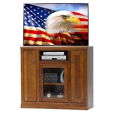 AmericanHeartland 46'' TV Stand; European Red