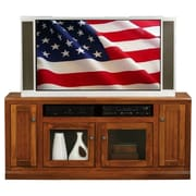 AmericanHeartland 66'' TV Stand; Chocolate Mousse