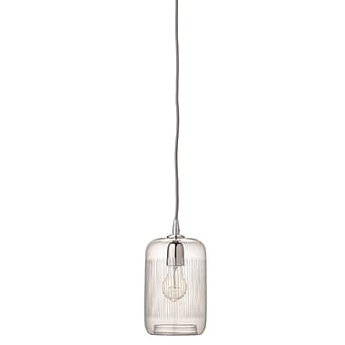 Jamie Young Company Silhouette 1 Light Mini Pendant; Nickel