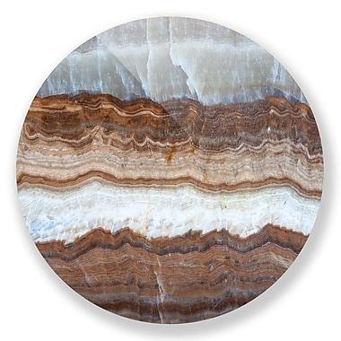 Two Palms Art Bazaar 'Subcutaneous Earth No. 1' Graphic Art Wall Art; 36'' H x 36'' W x 1'' D
