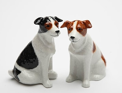 CosmosGifts Jack Russell 2 Piece Salt and Pepper Set