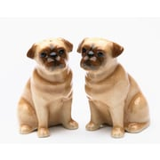 CosmosGifts Pug 2 Piece Salt and Pepper Set