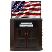 AmericanHeartland 42'' TV Stand; Chocolate Mousse