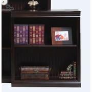 AmericanHeartland Poplar Open 36'' Standard Bookcase; Chocolate Mousse