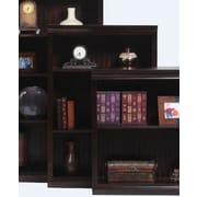 AmericanHeartland Poplar 48'' Standard Bookcase; Chocolate Mousse