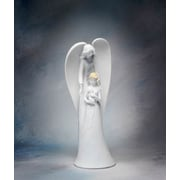 CosmosGifts Angel w/ Mother and Baby Figurine