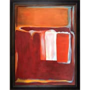 Tori Home 1947' by Mark Rothko Framed Painting on Canvas