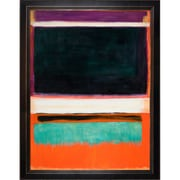 Tori Home 1949' by Mark Rothko Framed Painting on Canvas