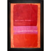 Tori Home 1956' by Mark Rothko Framed Painting on Canvas