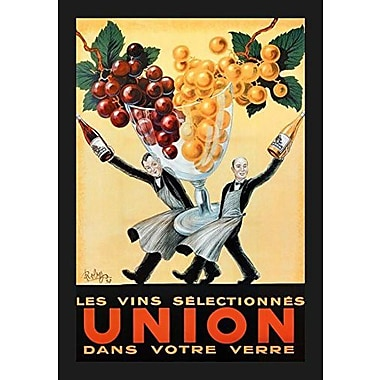 Buy Art For Less Robys (Selected Union Wine in Your Glass) Vintage' Framed Graphic Art