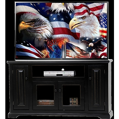 AmericanHeartland Deluxe 57'' TV Stand; Gray