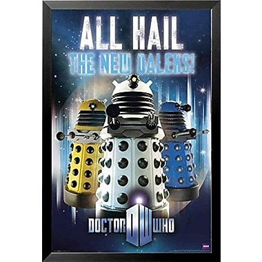 Buy Art For Less 'Doctor Who - All Hail the New Daleks' Framed Graphic Art