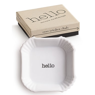 Rosanna Sweet Nothings Hello Plate