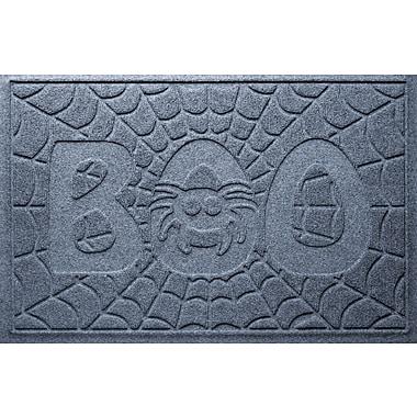 Bungalow Flooring Aqua Shield Boo Spider Doormat; Bluestone