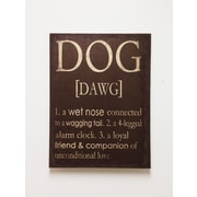 Wilco Home ''The Definition of a Dog'' Textual Art on Canvas