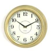 Wilco Home 10'' Metal Porthole Wall Clock