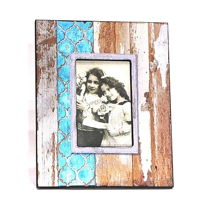 Wilco Home Wood Plank Picture Frame
