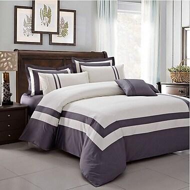 Montebello Fine Linens 5 Piece Comforter Set; Queen