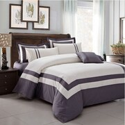 Montebello Fine Linens 5 Piece Comforter Set; Queen