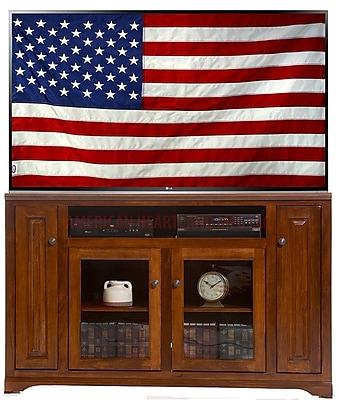 AmericanHeartland 66'' TV Stand; European Yellow