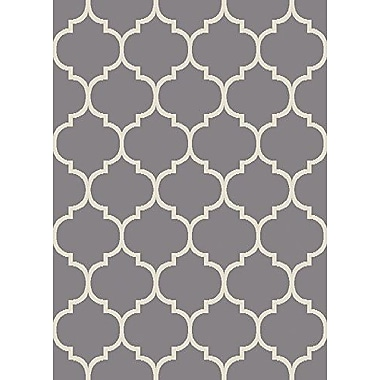 sweet home stores King Gray Area Rug; 7'10'' x 9'10''