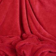Berkshire Blanket Shearloft Plush Throw; Red