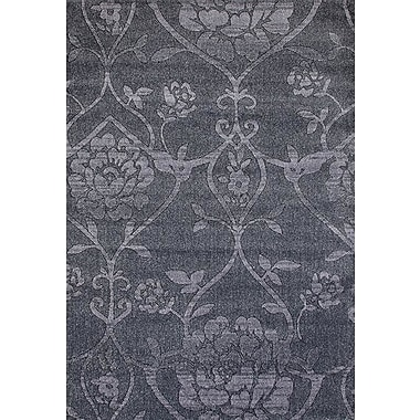 Persian-rugs Beverly Gray Area Rug; 4' x 5'3''