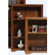 AmericanHeartland Oak 48'' Standard Bookcase; Light