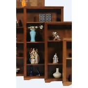 AmericanHeartland Oak 60'' Standard Bookcase; Light