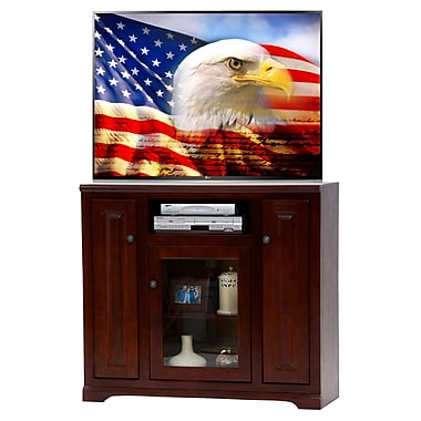 AmericanHeartland 46'' TV Stand; Antique Black
